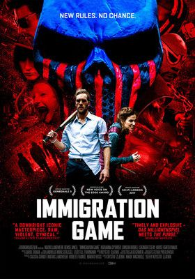 Filmposter 'Immigration Game'