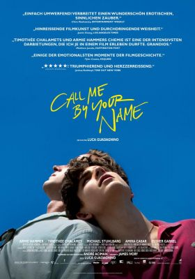 Filmposter 'Call Me By Your Name'