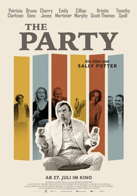 Filmposter 'The Party (2017)'