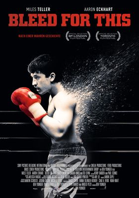 Filmposter 'Bleed for This'