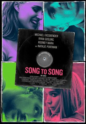 Filmposter 'Song to Song'