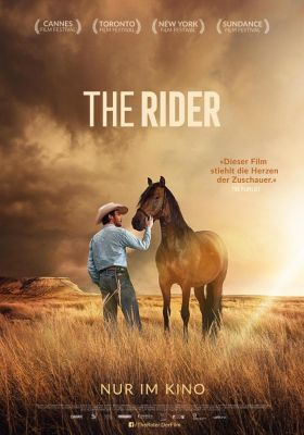 Filmposter 'The Rider (2017)'