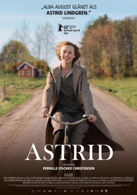 Filmposter 'Unga Astrid - Becoming Astrid'