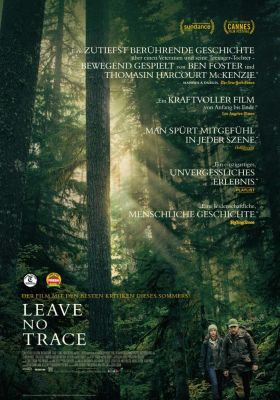 Filmposter 'Leave No Trace'