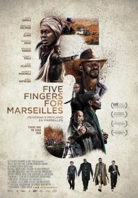 Filmposter 'Five Fingers for Marseilles'