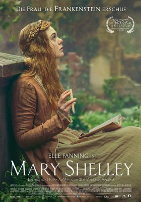 Filmposter 'Mary Shelley (2018)'