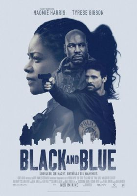 Filmposter 'Black and Blue'