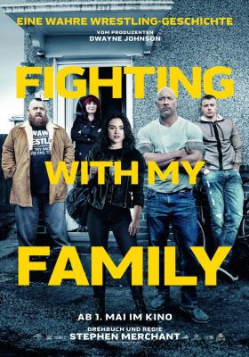 Filmposter 'Fighting with My Family'
