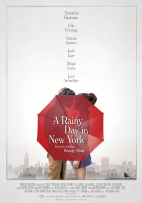 Filmposter 'A Rainy Day In New York'