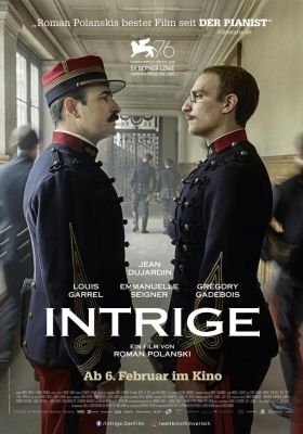 Filmposter 'Intrige: An Officer And A Spy'